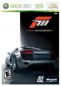 Forza Motorsport 3 Xbox 360 Napisy PL