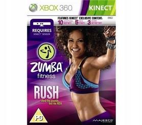 ZUMBA FITNESS RUSH KINECT X360 Xbox 360