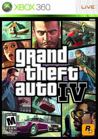 Grand Theft Auto IV GTA IV XBOX 360 XBOX ONE XSX (1)