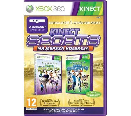 Kinect Sports 1 i 2 Najlepsz Kolekcja PL X360 (1)