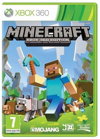 Minecraft Xbox 360 Wersja Pudełkowa Płyta (1)